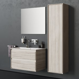 3D drawers connect air washbasin