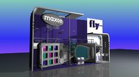 expo mobile phone 3D