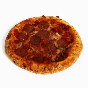 3D pizza diavlo