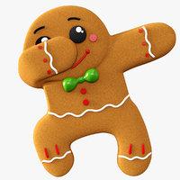 3D gingerbread