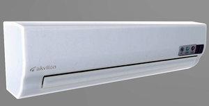 3D air conditioner split model