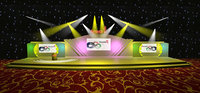 3DS Max 2014 Stage Concert 10