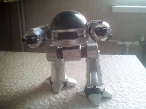 ed-209 action figure 3D