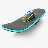 3D future skate model