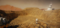 mars surface model