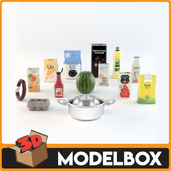 food drink model
