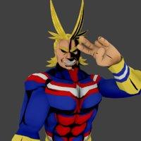 3D boku hero