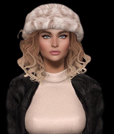 mesh hair hat 3D