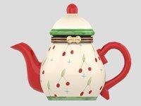 3D pot tea teapot model