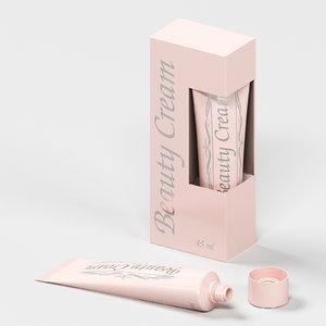 3D cream beauty 45ml box