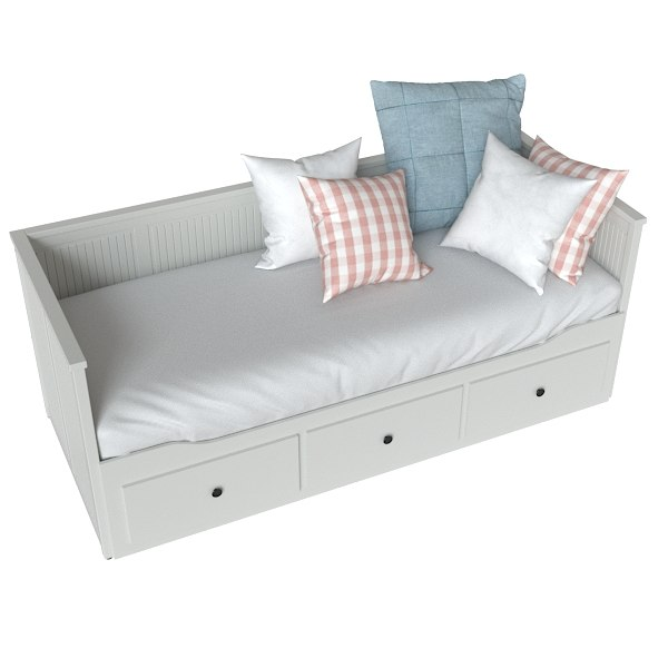 3D sofa ikea hemnes model