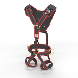 3D security harness