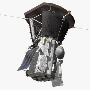 parker solar probe 3D