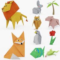 origami art 3D