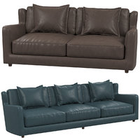 baxter bergere sofa 3D model
