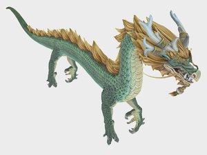 3D dragon rig
