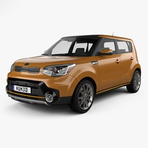 kia soul turbo 3D