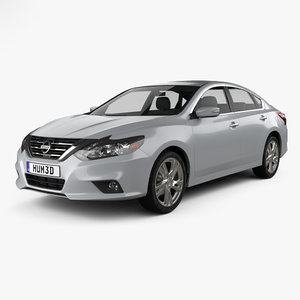 nissan altima sl 3D model