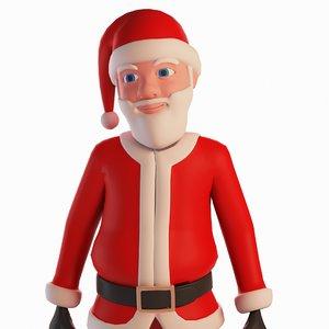 cool santa claus 3D
