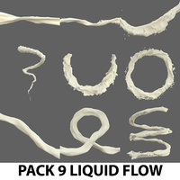 liquid flow pack water model