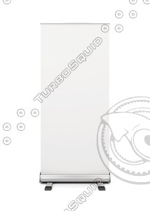roll-up banner display model