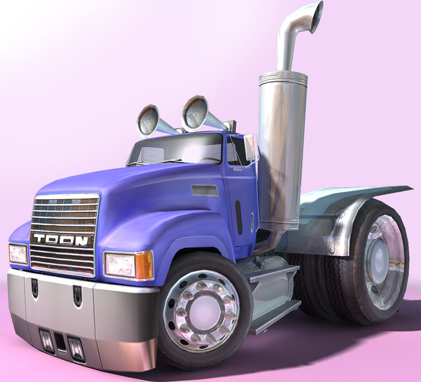 3D generic - cartoon truck games