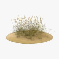 sand-dunes-with-grass---dune-1 3D model
