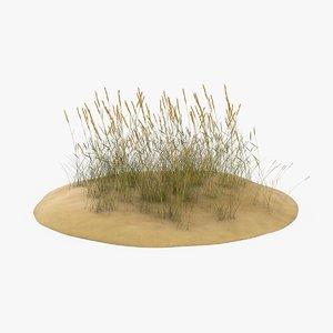 sand-dunes-with-grass---dune-1 3D model