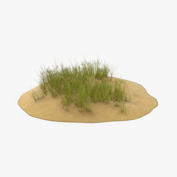 3D sand-dunes-with-grass---dune-2