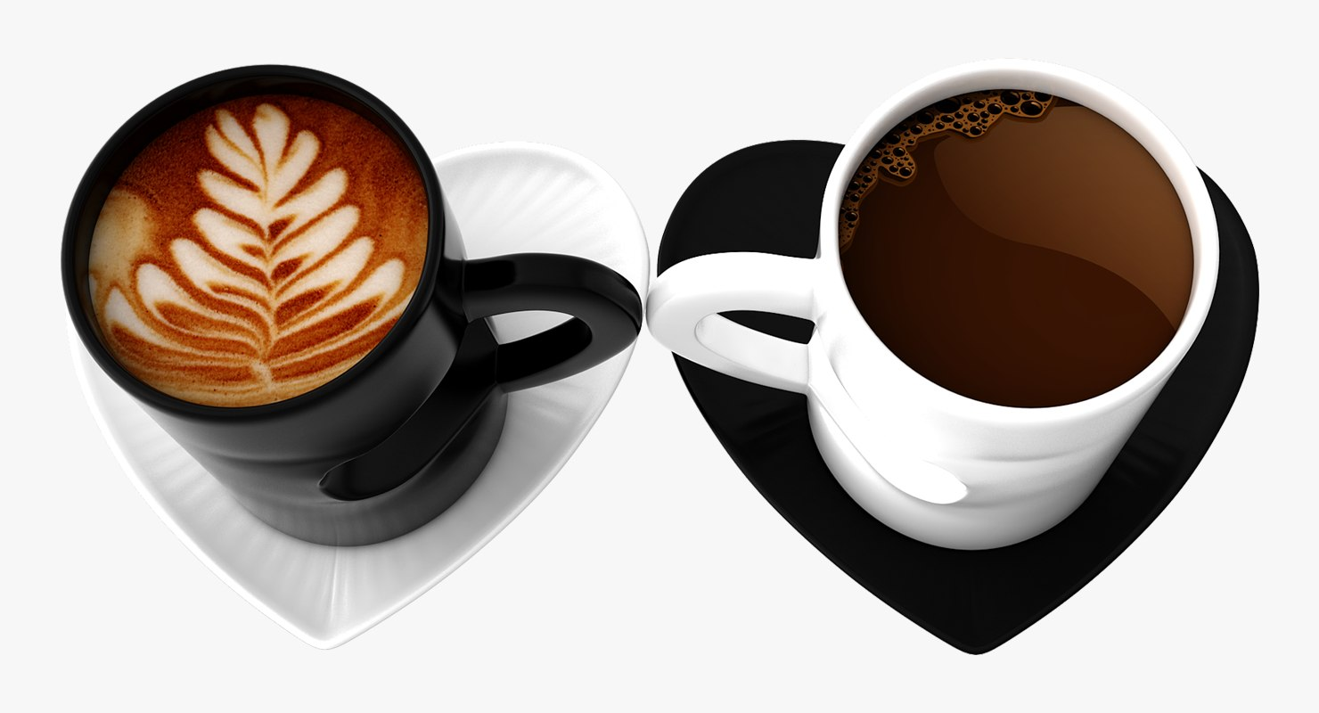 3D cup heart