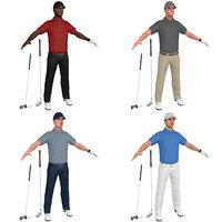 pack golfer model