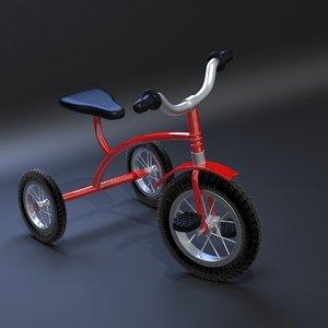 kids bike 3D