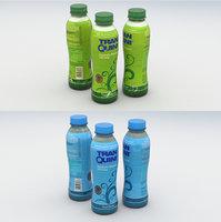 3D model beverage bottles