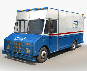 step van postal service 3D model