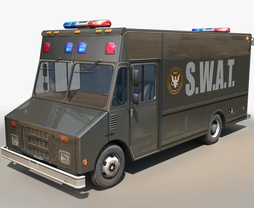 step van swat cars model