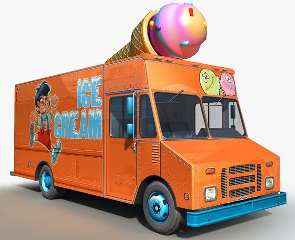 ice cream step van model