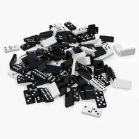 bunch dominoes 3D