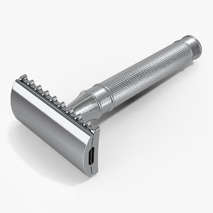 3D classic safety razor