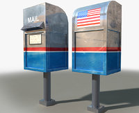 3D generic mail box style