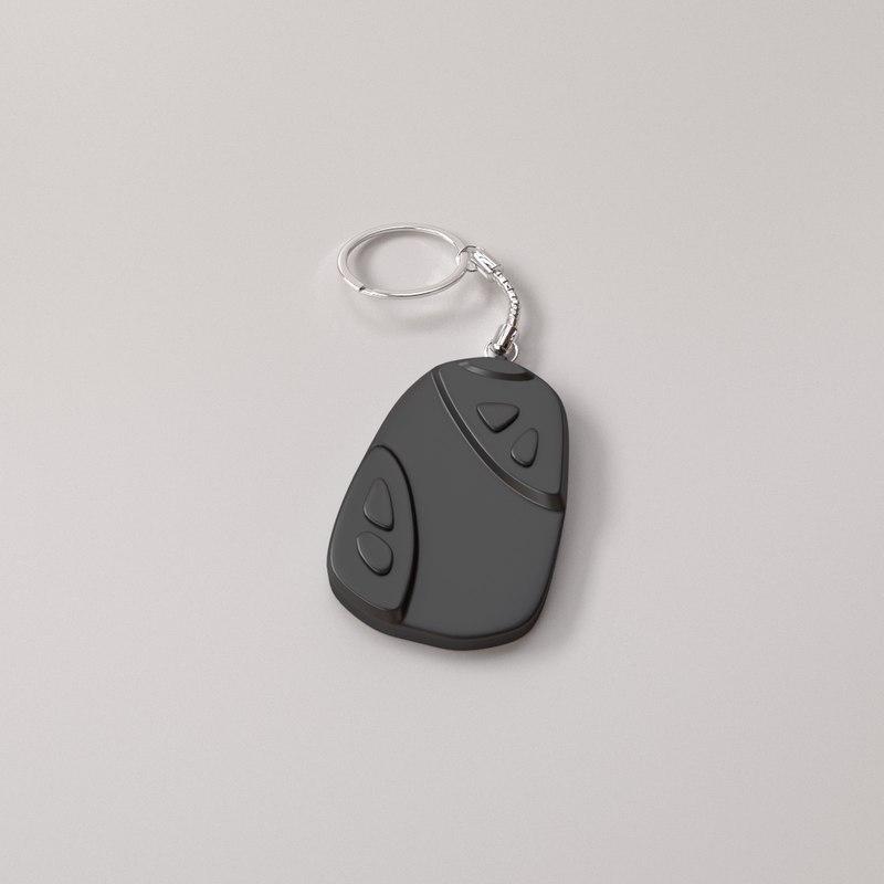 key keyfob 3D model