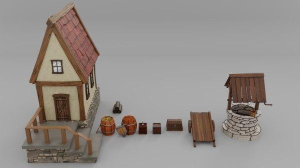 medieval 3D