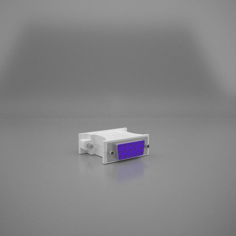 gpu converter 3D model