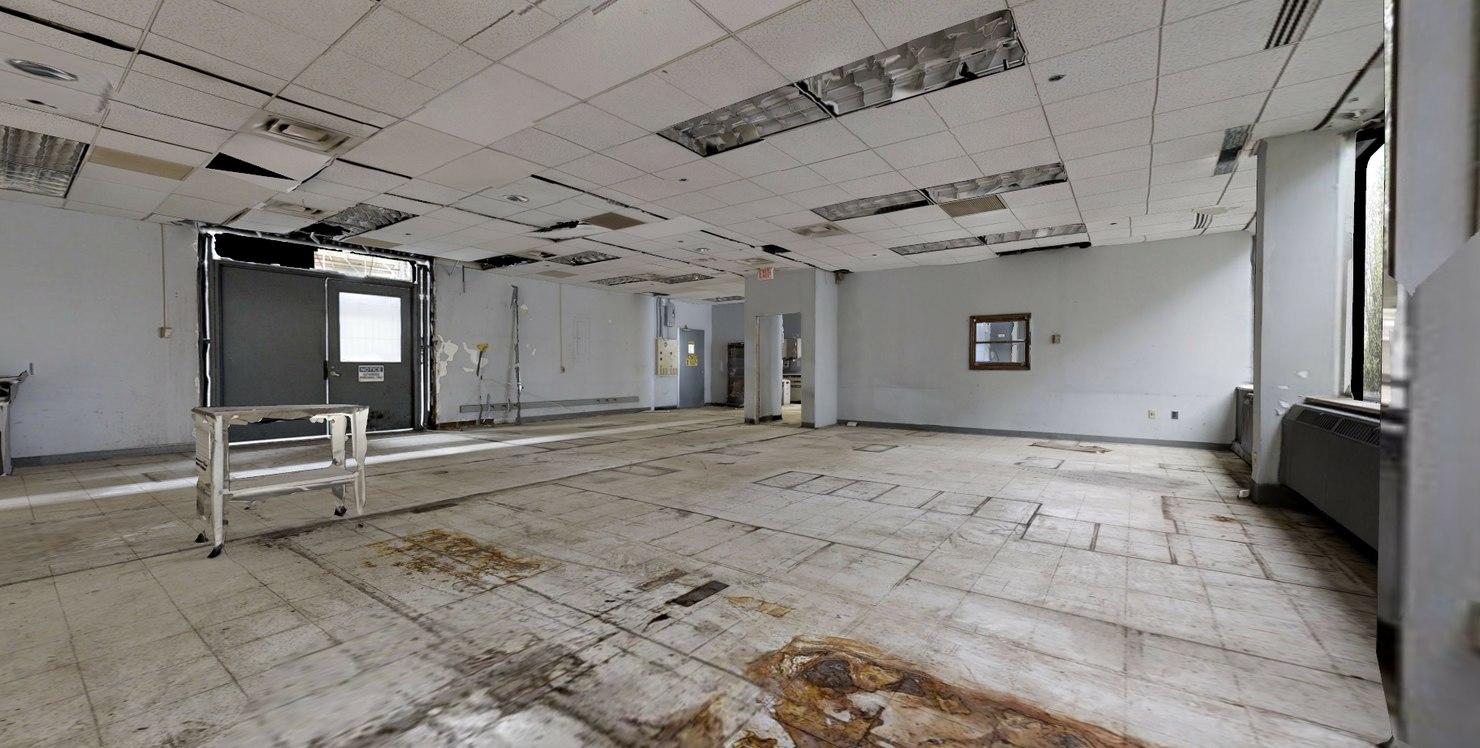 abandoned office interior 3D model