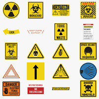 Warning Decals Pack