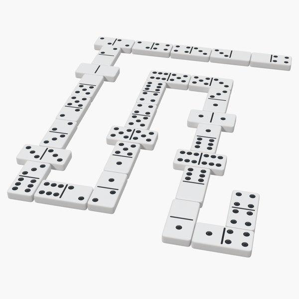 3D domino games