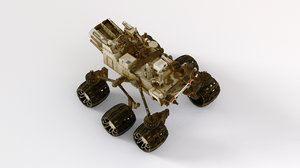 3D ready mars rover model