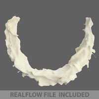 3D liquid flow pack realflow
