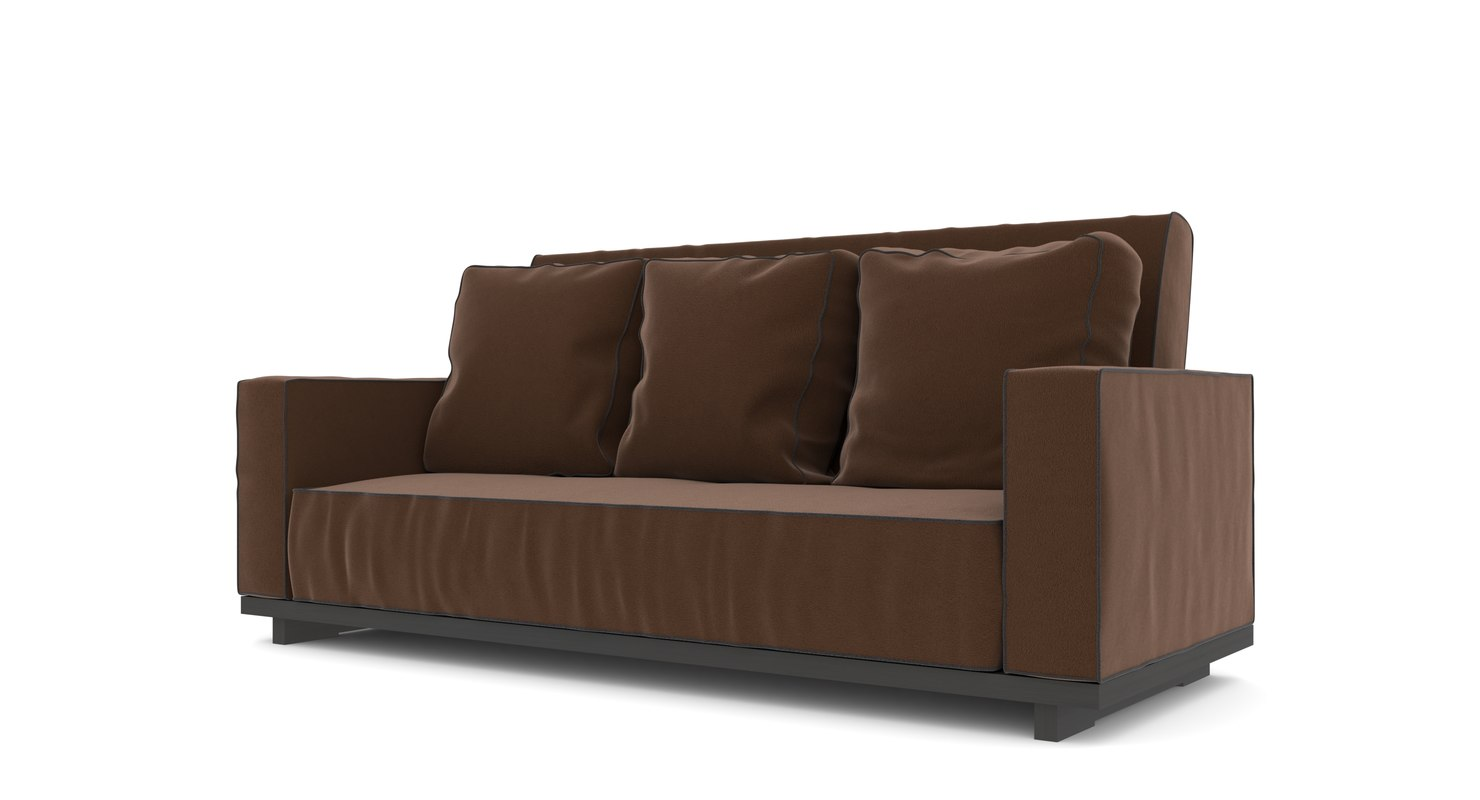 couch 3 3D model
