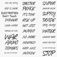 Apocalyptic / Warzone Decals Pack