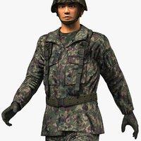 JGSDF Soldier